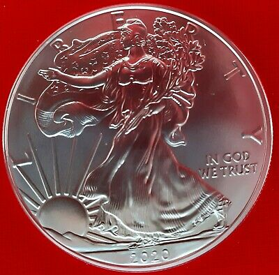 Dollaro Argento USA 2020 Oncia Liberty Eagle 1 oz.