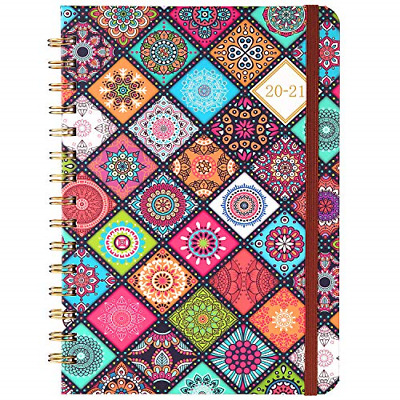 2020-2021 Planner Academic Weekly & Monthly Planner with Flexible Hardcover