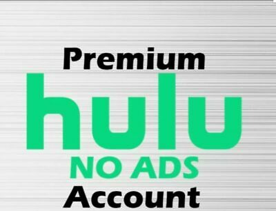 Hulu Premium Account No Ads / 12 Month Warranty Reliable seller