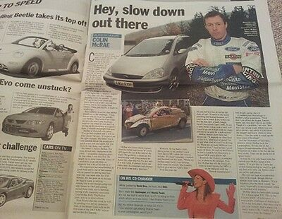 TIMES MOTORING SUPPLEMENT COLIN McRAE INTERVIEW