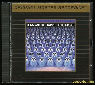 Jean Michel Jarre Equinoxe Mobile Fidelity Sound Lab Ultradisc II Gold CD MFSL