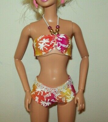 Barbie Doll Clothes Swimsuit Shorts B143