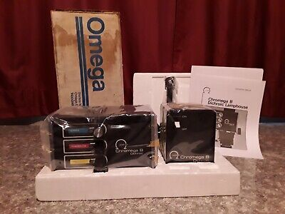Omega Chromega B Dichroic Color Head with Stabilized Power Supply - Brand New!