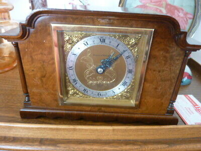 Mapin & Webb wind up mantal clock