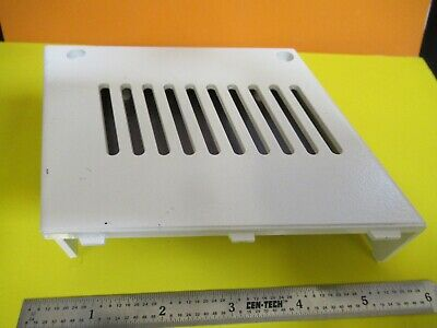 Leica Dmrb Germany Plastic Cover Microscope Part As Pictured &Ft-6-186