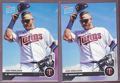 Josh Donaldson Twins 2020 MLB TOPPS NOW Road to Opening Day 20/25 OD-142 w/ Base