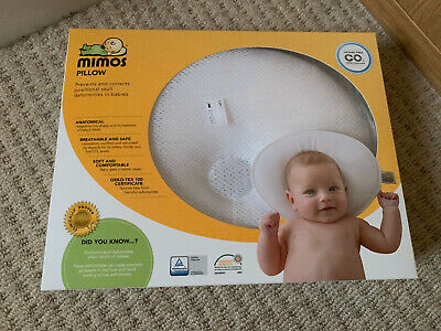 New Mimos Baby Pillow SMALL S-SIZE - For Flat Head (Plagiocephaly) (Prev XL) *