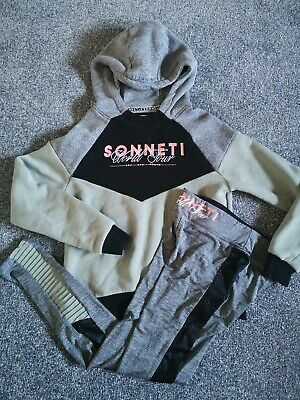 Girls Sonneti jumper hoody  & Leggings Set Age13 15