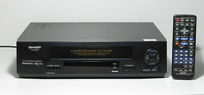 VHS Videorecorder Sharp VC-MH761 6 head HiFi Stereo 1 Jahr Garantie S-VHS Simple