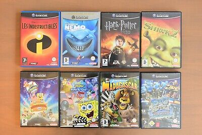 Lot de 8 jeux NINTENDO GameCube - PAL FR