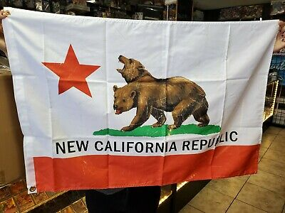 Fallout California Republic Flag 76 Loot Crate Exclusive 2ft x 3ft w/ Grommets