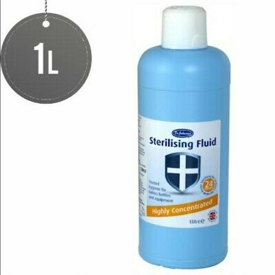 Dr Johnson's Baby Sterilising Fluid Highly Concentrated Disinfectant- 1 Litre