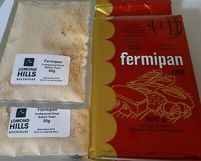 Fermipan INSTANT Dried Yeast 100g Bakers Bread Vegan Same Day Post 1st Class