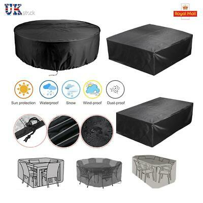 Garden Table Patio Furniture Cover Rattan Square Cube Outdoor Cover Waterproof