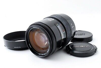 *Read* Minolta AF Macro 35-105mm F/3.5-4.5 Lens for Sony A w/Hood Tested #5091