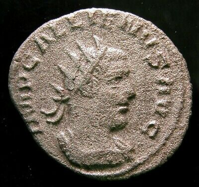 Gallienus Billon Antoninianus / Victoria German / Vf