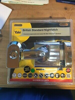 PBS2 BS1 VARIOUS FINISHES BS2 Yale British Standard Nightlatch P-BS1
