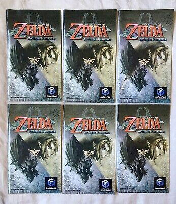 Legend of Zelda:The Twilight Princess (GameCube) Instruction Booklet Manual ONLY