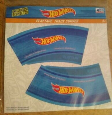 Hot Wheels Playtape Blue Track Curves 2016 Blue USA NIP 6250 USA