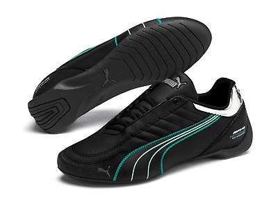 Mens Puma Mercedes Amg Future Kart Cat Black Motorsport F1 Racing Driving Shoes