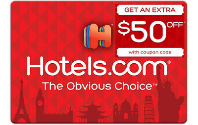 Coupon $50 Off Hotels.com Get $50 off select hotels when you spend $200 or more