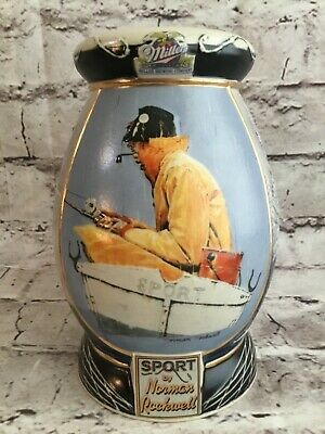 Sport Norman Rockwell Saturday Evening Post Collection Beer Stein & Certificate