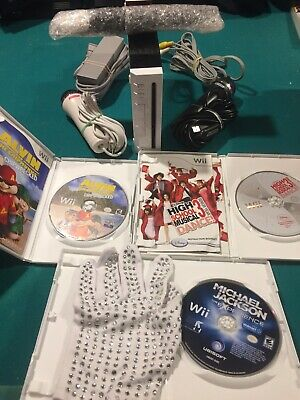 wii console bundle with games And Microphones