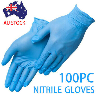Disposable Nitrile Gloves Medical Gloves Bastion Powder Free Blue/S/M/L/XL
