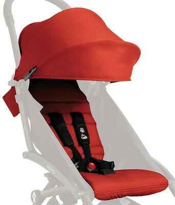 Brand New In Box Babyzen Yoyo Color Pack Canopy Seat Pad Red