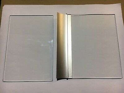 Replacement Upper & Lower  Carrier Glass For Eyecom 1000 Microfiche Reader