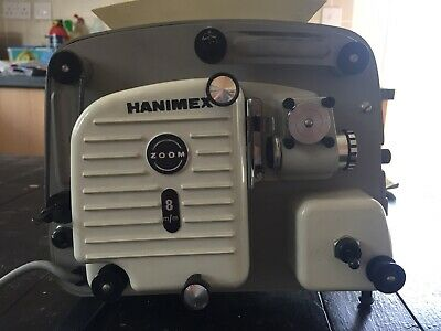 Vintage Hanimex Zoom 8mm Projector - Full Working Order with Instructions