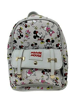 """EEYORE Deluxe Disney Winnie The Pooh Tigger 11/"""" Faux Leather Mini Backpack"""