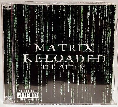The Matrix Reloaded: The Album (CD, 2 Discs)  NICE !