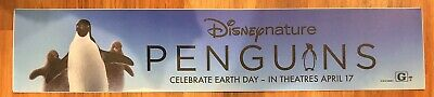 ⭐ Penguins - Disney Nature - Movie Theater Poster Mylar Small Version