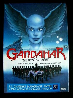 GANDAHAR - DVD - Film D'animation de René Laloux- Dessin Caza Science Fiction