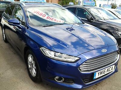 2016 Ford Mondeo 2.0 TDCi ECOnetic Titanium 5dr X PACK FULL LEATHER+SAT NAV