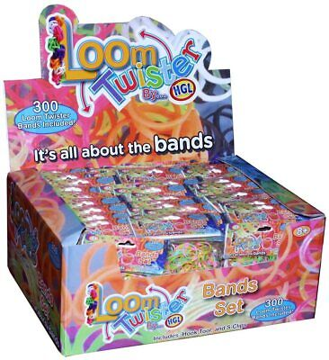 14,400 Rubber Loom Band Set Kit Assorted Bracelet Jewellery Glitter Neon Bands