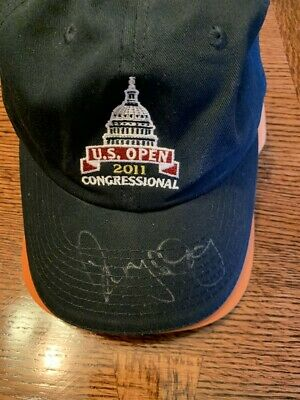 RORY MCILROY  Signed 2011 US Open Championship Golf Hat  AUTO  PSA/DNA COA