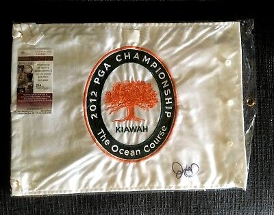 Rory Mcilroy Signed 2012 Pga Champ Flag  Auto  Jsa/Coa  British  Pga  Us Open