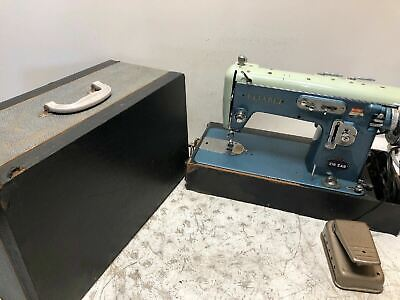 Vintage Reliable DE LUXE 100 Zig Zag Sewing Machine Made in Japan Unique *RARE**