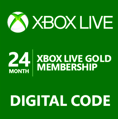 Xbox Live 12 Month X 2 (24 Month) Gold Membership Code🔥Quick Email Delivery🔥