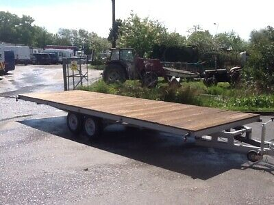 Trailer Twin axle flatbed Transporter 22ft 2500kg  try an offer for this weekend