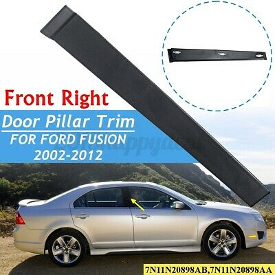 Ford Fusion 2001-2013 OSF Drivers Side Front Door Trim Panel plastic B Pillar