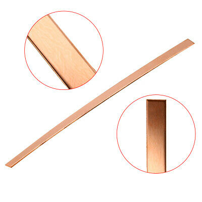 1pc 99% Copper Strip T2 Cu Metal Copper Bar Plate 1.5mm*10mm*250mm DIY US