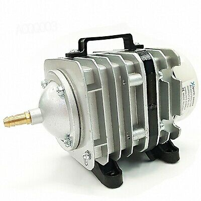 AC Piston Compressor 50L Air Pump Koi Fish Pond, Hydroponic Tank, Aquarium