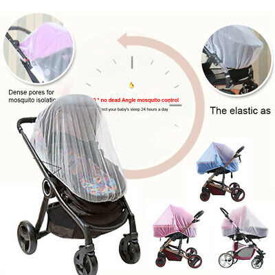 Summer Baby Stroller Mosquito Net Full Cover Outdoor Protection Universal Mesh