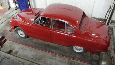 Jaguar Stype Restored and Painted Rolling Shell with Wire Wheels.