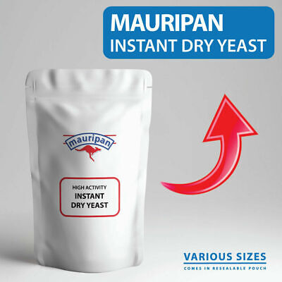 Mauripan Instant Dried Yeast High Activity Yeast Dry BREAD YEAST For Baking