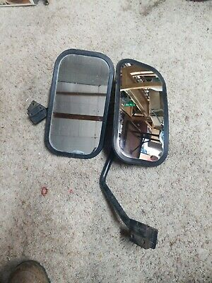 "2 Tractor mirrors 12 x 6 "" Pretty sure older John Deere, with mounting brackets"