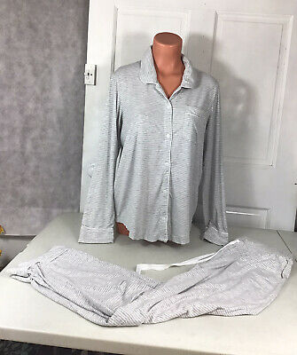 LANDS END Pajamas Matching Set Womens Medium